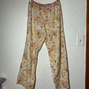 Victoria's Secret pajama pants, size medium.